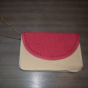 Escada Watermelon Handbag